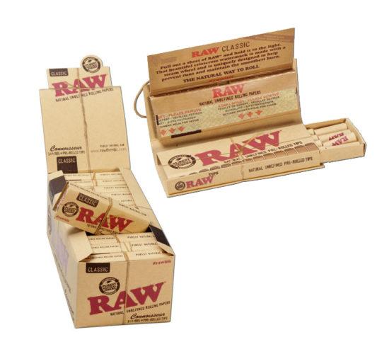 Бумага для самокруток «RAW»