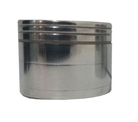 Алюминиевый шлифованный гриндер из 4-х частей
