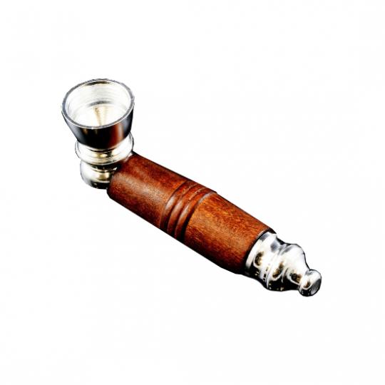 Металлическая трубка для курения Стандарт
