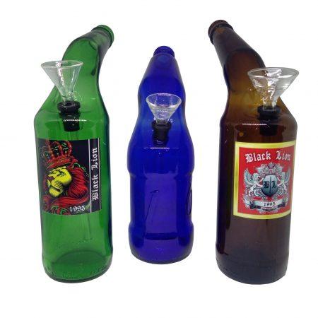 Бонг из стекла «Пивная бутылка»
