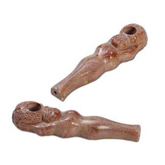 Каменная трубка «Девушка»