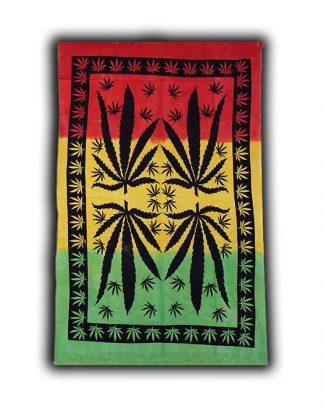 Раста гобелен Лист марихуаны