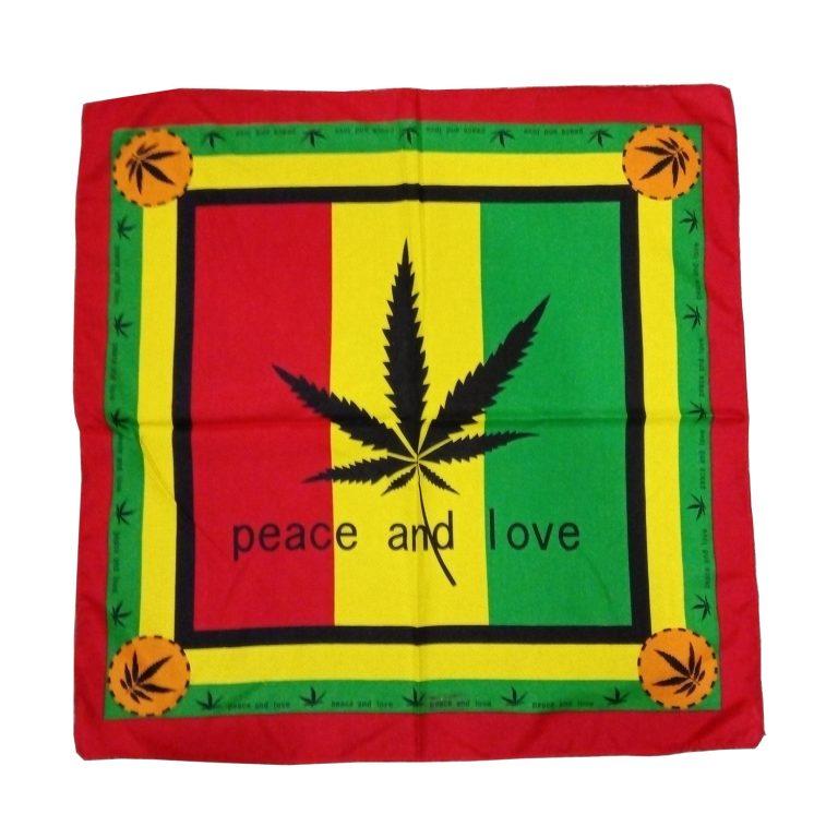 Бандана «Peace and love»