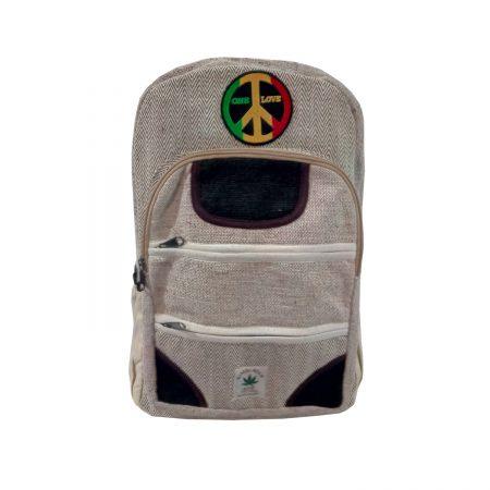 Конопляный рюкзак One Love