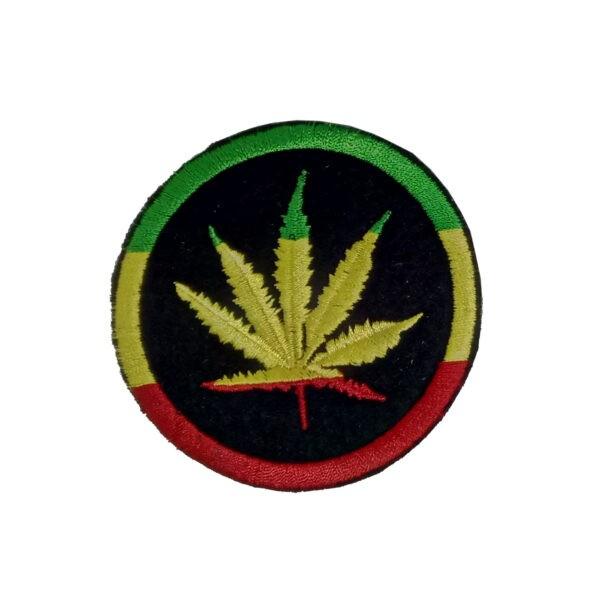 Раста Нашивка «Лист Травы»