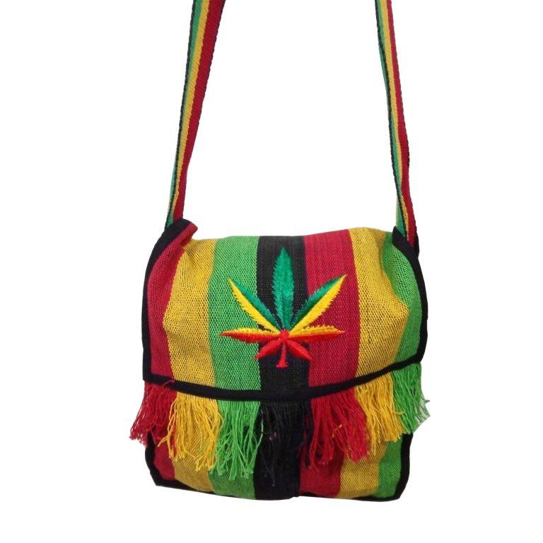Раста сумка «Лист Конопли»