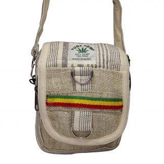 Эко сумка-мессенджер из конопли «Мини»