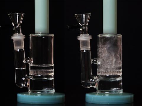 Сколько воды заливать в бонг