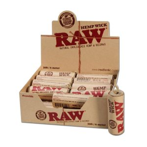 Фитиль RAW Hemp Wick