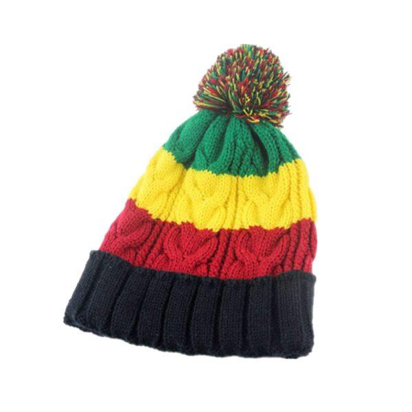 Раста шапка с балабоном